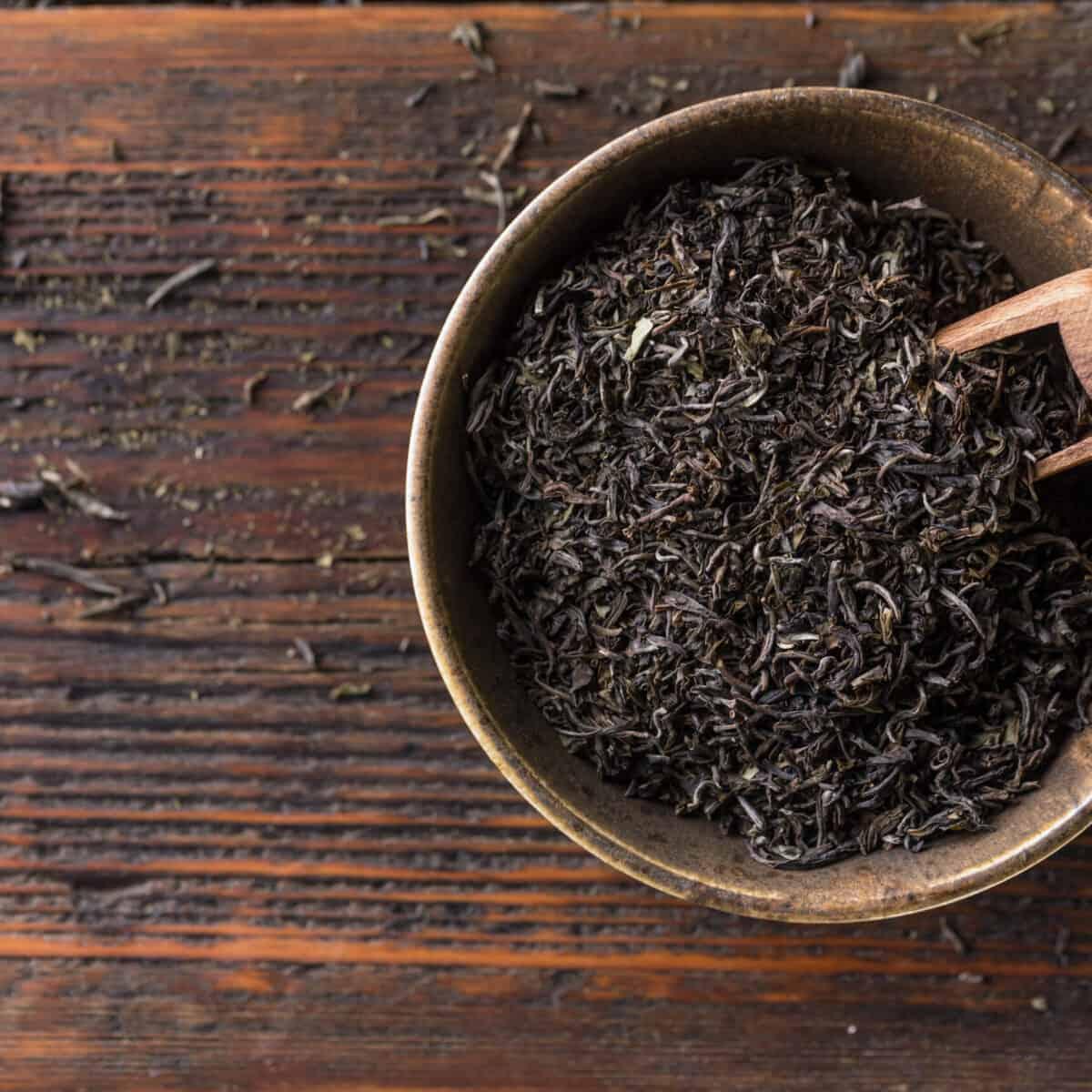 Image of black tea