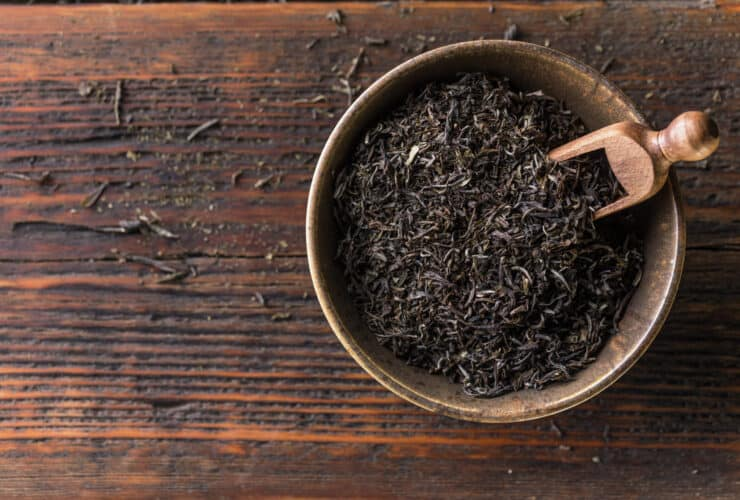 Image of black tea